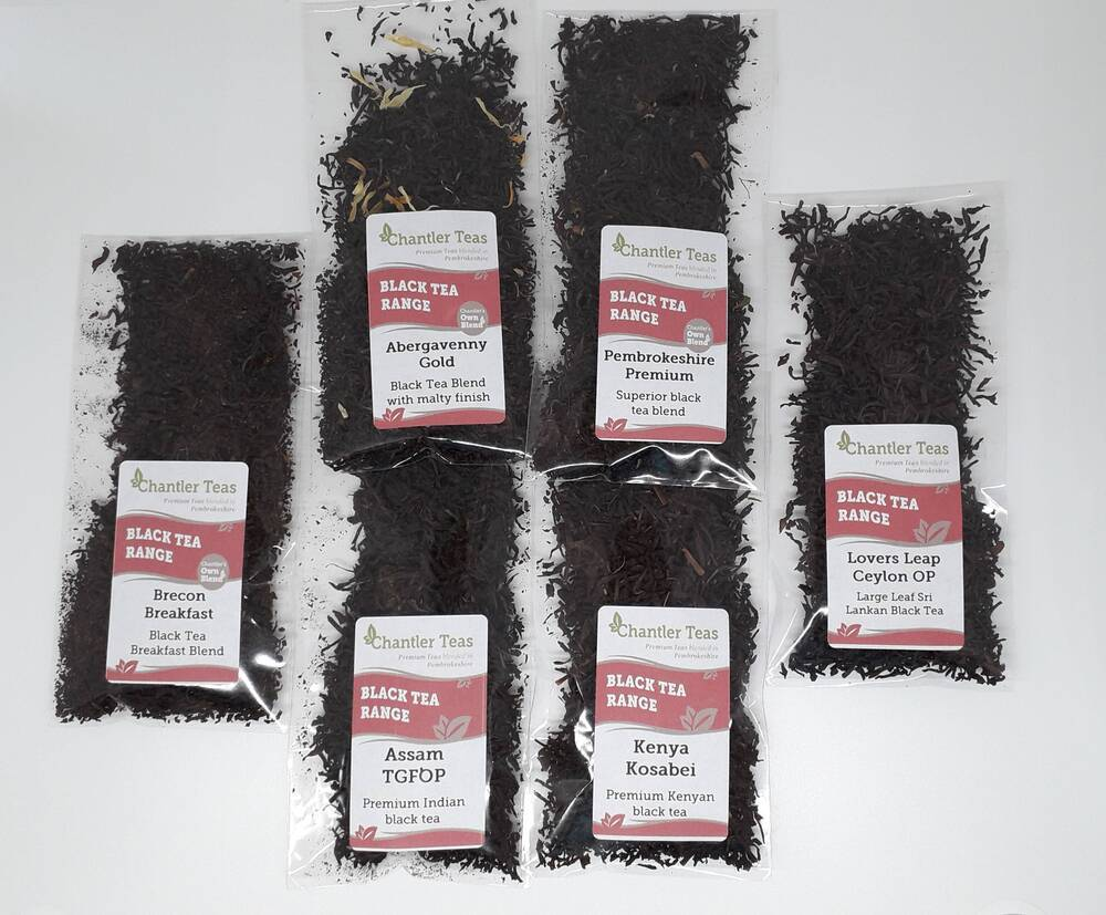 Black Teas Loose Leaf Sample Set