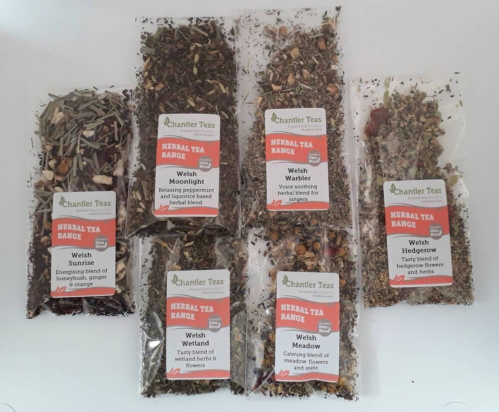 Herbal Loose Leaf Tea Sample Collection
