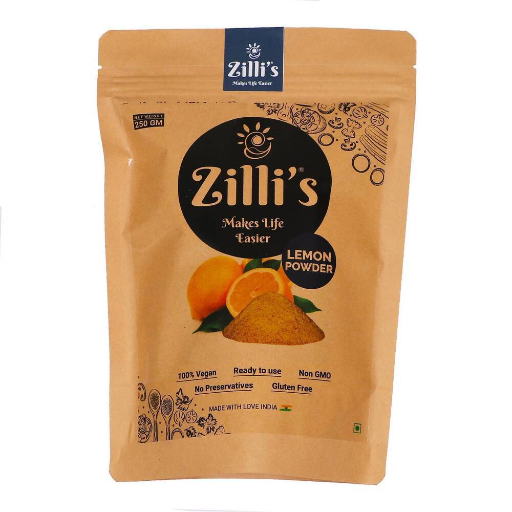 Zilli's - Lemon Powder - 8.82oz (250g)