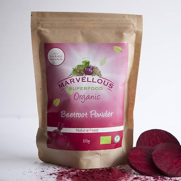 Organic Beetroot Powder 100g