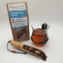 Winter Marzipan Rooibos loose leaf tea, 80g Retail Box