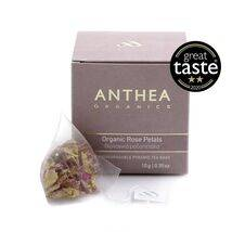 Rose petals plastic free tea bags