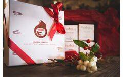 Gift box with 4 boxes of herbal teas